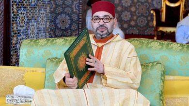 Photo of تهنئة صاحب الجلالة الملك محمد السادس بمناسبة حلول الهجري الجديد 1442