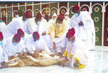 Photo of تهنئة صاحب الجلالة بحلول عيد الأضحى السعيد