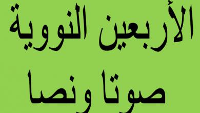 Photo of ملف الأربعين النووية ( صوتا ونصا )